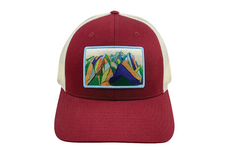 Katherine Homes Tetons Baseball Hat