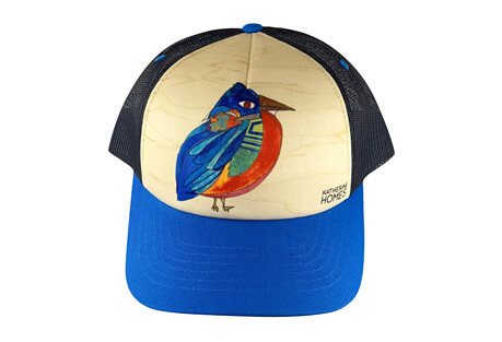 Katherine Homes Eastern Bluebird Baseball Hat