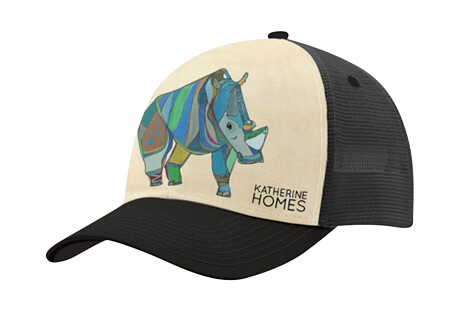 Katherine Homes Northern White Rhino Baseball Hat