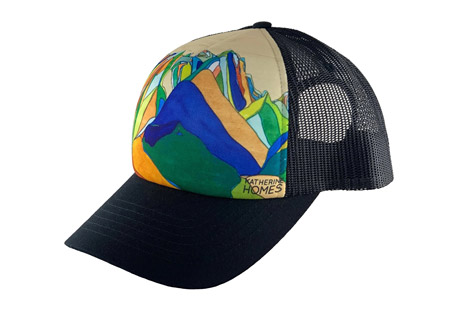Katherine Homes Grand Tetons Baseball Hat