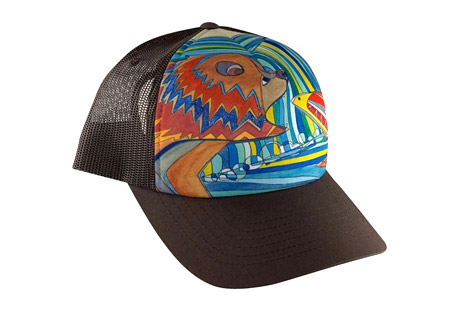 Katherine Homes Adult Sublimation BB Hat - Grizzly Bear