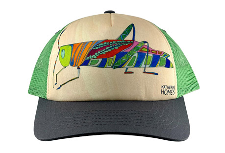 Katherine Homes Grasshopper Hat