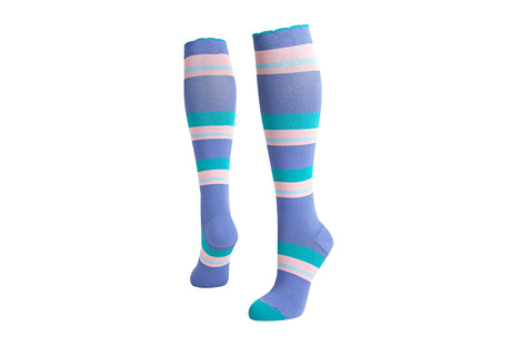 Lily Trotters Candy Stripes Compression Socks
