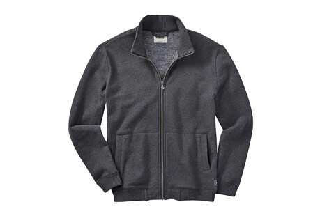 LinkSoul Heathered Full-Zip Layer - Men's