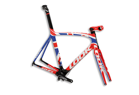 Look Cycle 695 Premium Collection Frameset - UK Flag