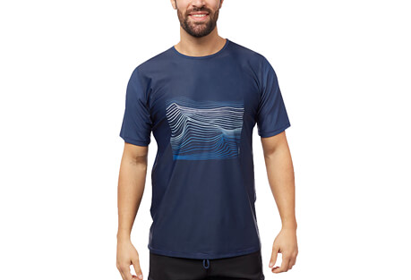 Level Six Coastal S/S UPF 50+ Sunshirt - Men's