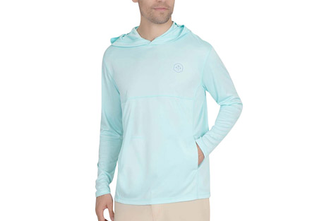 Mountain and Isles L/S Hooded UV Sun Protection Shirt - Men's
