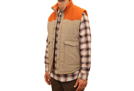 Mountain and Isles Western Vest - Men's