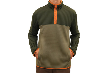 Mountain and Isles 1/4 Snap Pullover - Men's