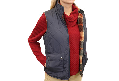 Mountain and Isles Quilted Vest - Women's