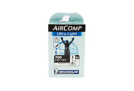 Michelin AirComp Ultralight Tube 700x18-23 60mm PV