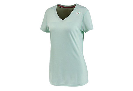 Mizuno Breath Thermo Body Mapping Tee - Women's