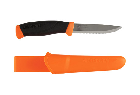 Morakniv Companion Serrated Knife