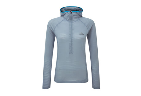 Mountain Equipment Solar Eclipse Hooded Zip Tee - Women's
