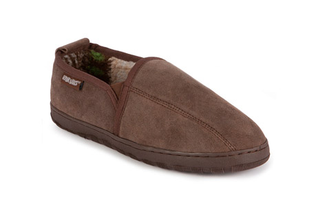 MUK LUKS Eric Printed Suede Slip-On - Mens