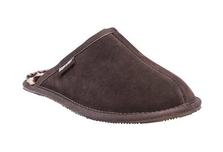 MUK LUKS Dave Suede Scuff Slippers - Men's