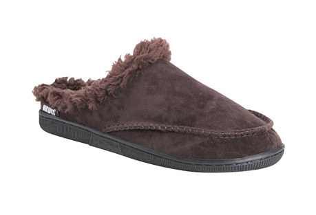 MUK LUKS Faux Suede Clog Slippers - Men's