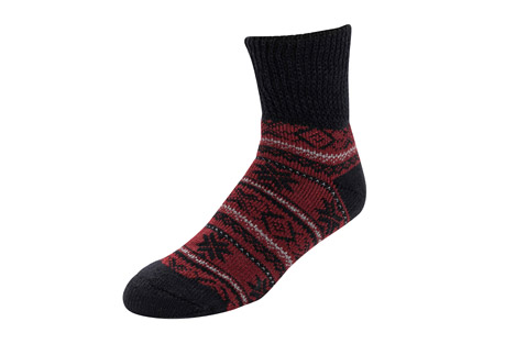 MUK LUKS Short Heat Retainer Thermal Insulated Socks