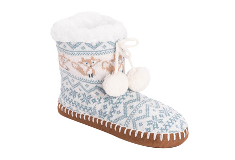 MUK LUKS Bootie Slippers - Women's