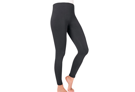 MUK LUKS Fleece-Lined Leggings - Women's