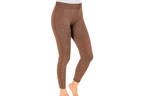 MUK LUKS Fleece-Lined Faux Denim Leggings - Women's