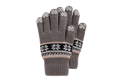 MUK LUKS Lined Touchscreen Gloves
