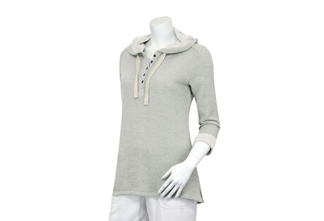 North River Apparel French Terry 3/4 Sleeve Hoodie - Women's