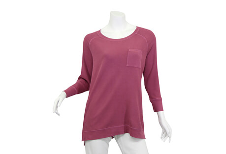 North River Apparel Waffle Tunic 3/4 Sleeve - Women's