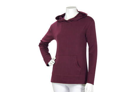 North River Apparel Cross Crew Pull Over Hoodie - Women's