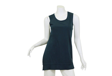 North River Apparel Slub Jersey Sleeveless Crew + Trim - Women's