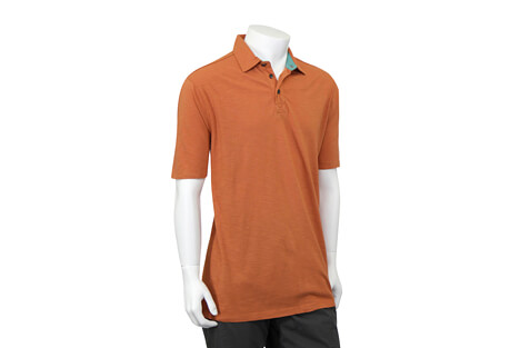 North River Apparel Cotton Slub Polo Short Sleeve - Men's