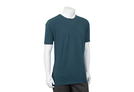 North River Apparel Cotton Slub Jersey Crew Short Sleeve - Men's