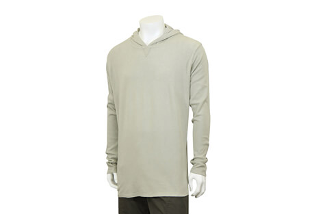 North River Apparel Waffle Hoodie Long Sleeve - Men's