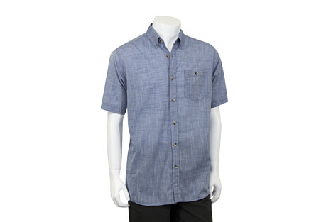 North River Apparel Oxford Button Up Short Sleeve - Men's