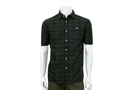 North River Apparel Dobby Button Up Short Sleeve - Men's