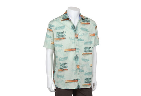 North River Apparel Classic Boat Button Up Short Sleeve - Men's