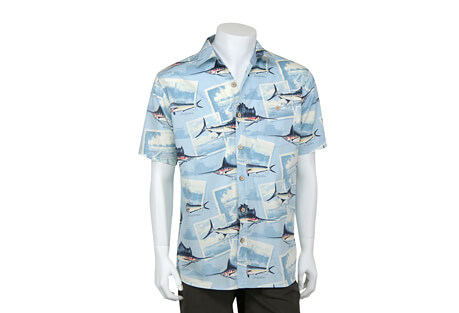 North River Apparel Sailfish Button Up Short Sleeve - Men's