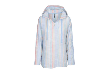 North River Apparel Texture Woven Hoodie - Women's