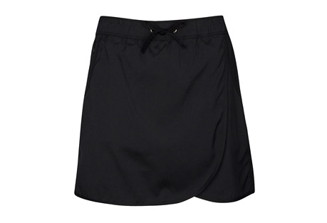 North River Apparel Solid Stretch Woven Skort - Women's