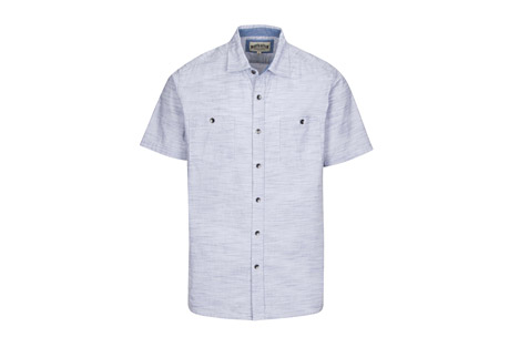 North River Apparel S/S Chambray Crosshatch with Faded Wash - Men's