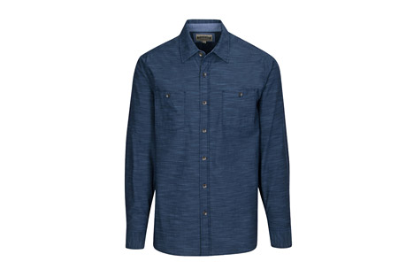 North River Apparel L/S Chambray Crosshatch with Faded Wash - Men's
