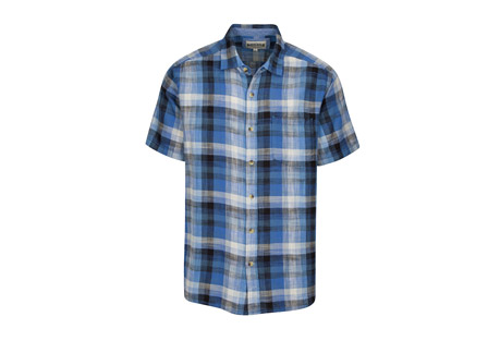 North River Apparel S/S Cross hatch Slub with Faded Wash - Men's