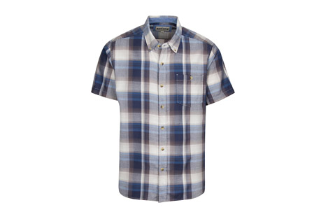 North River Apparel Cozy Cotton Blend Plaid Shirt - Men's