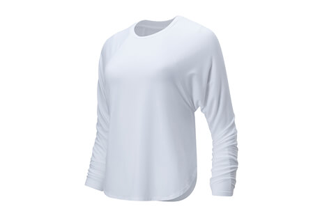 New Balance Evolve Side Slit Long Sleeve - Women's