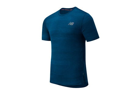 New Balance Q Speed Fuel Jacquard Short Sleeve - Men's