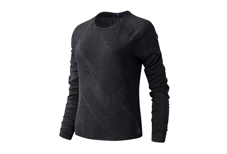 New Balance Q Speed Fuel Jacquard Long Sleeve - Women's