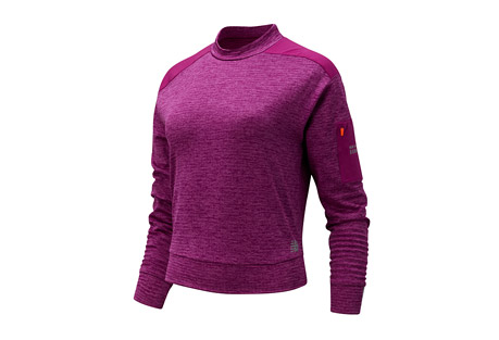 New Balance NB Heat Grid Long Sleeve - Women's