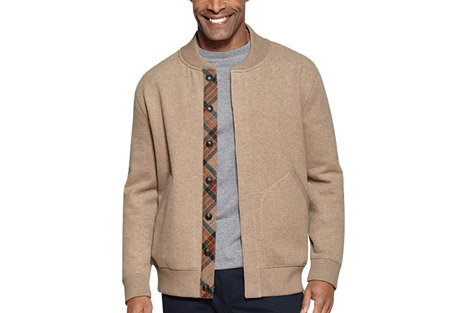 Pendleton Button Front Fleece Jacket - Men's