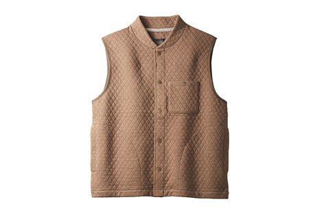 Pendleton Quilted Knit Vest - Men's