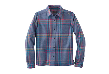 Pendleton Cropped Lodge Shirt - Women's